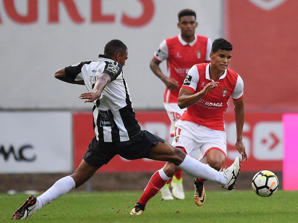 TL: Portimonense repete Luz e empata 2-2 em Braga