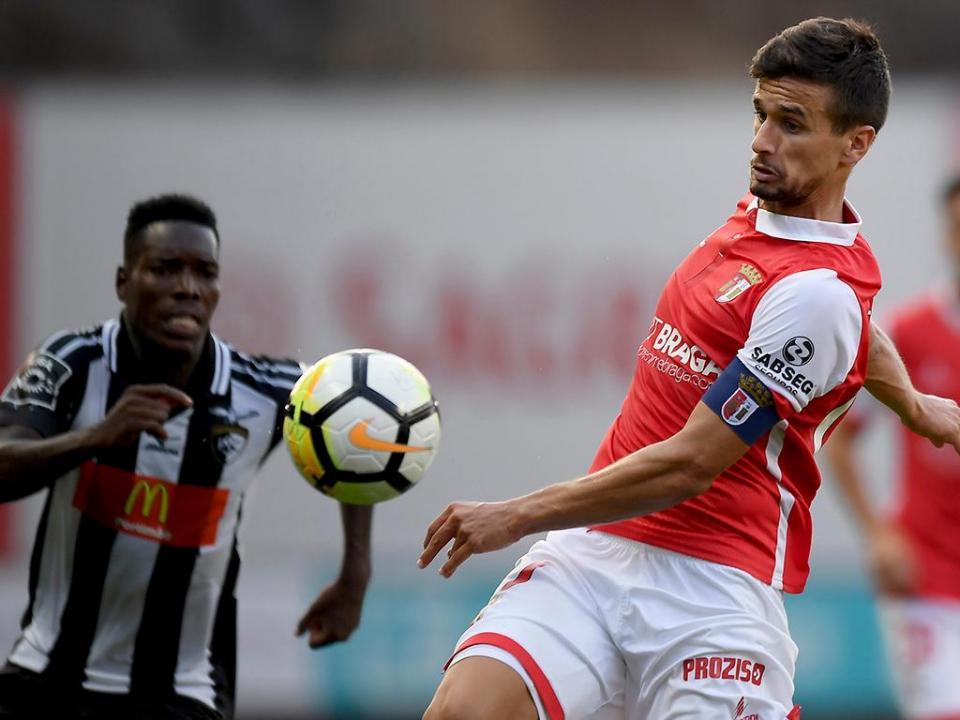 Taça da Liga: Sp.Braga-Portimonense muda de horário