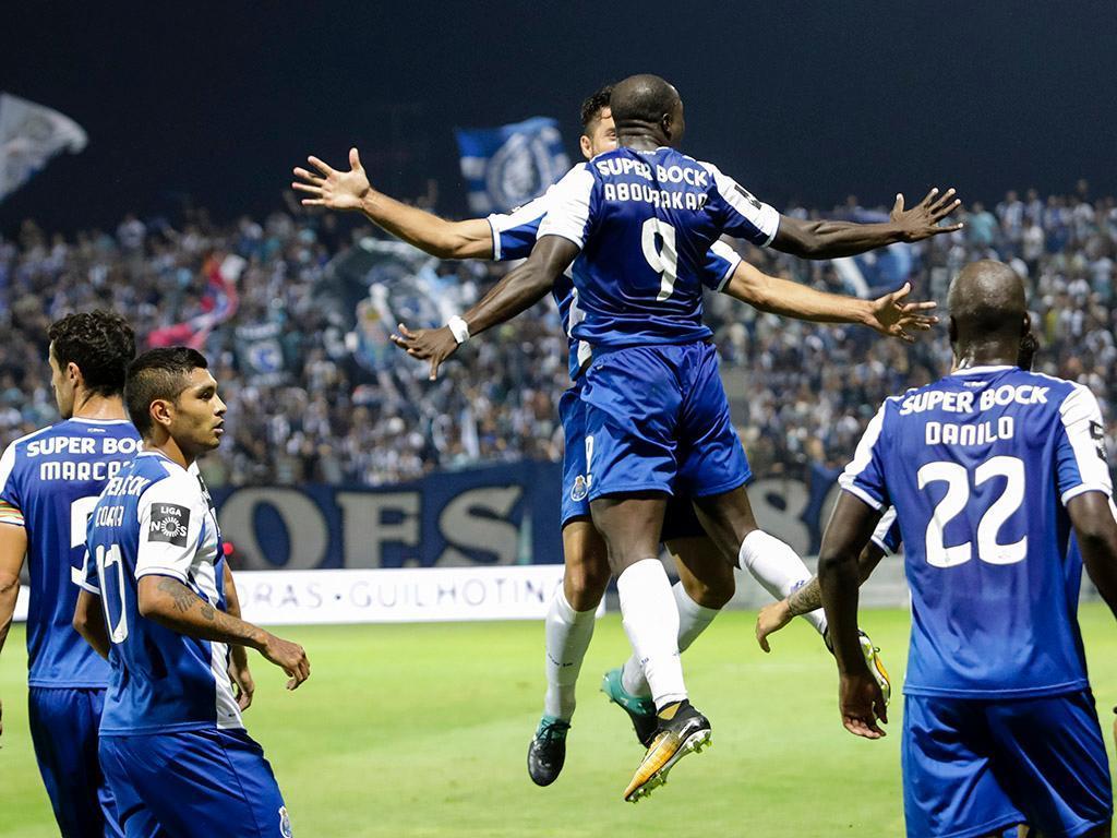 Tondela-FC Porto, 0-1(destaques)