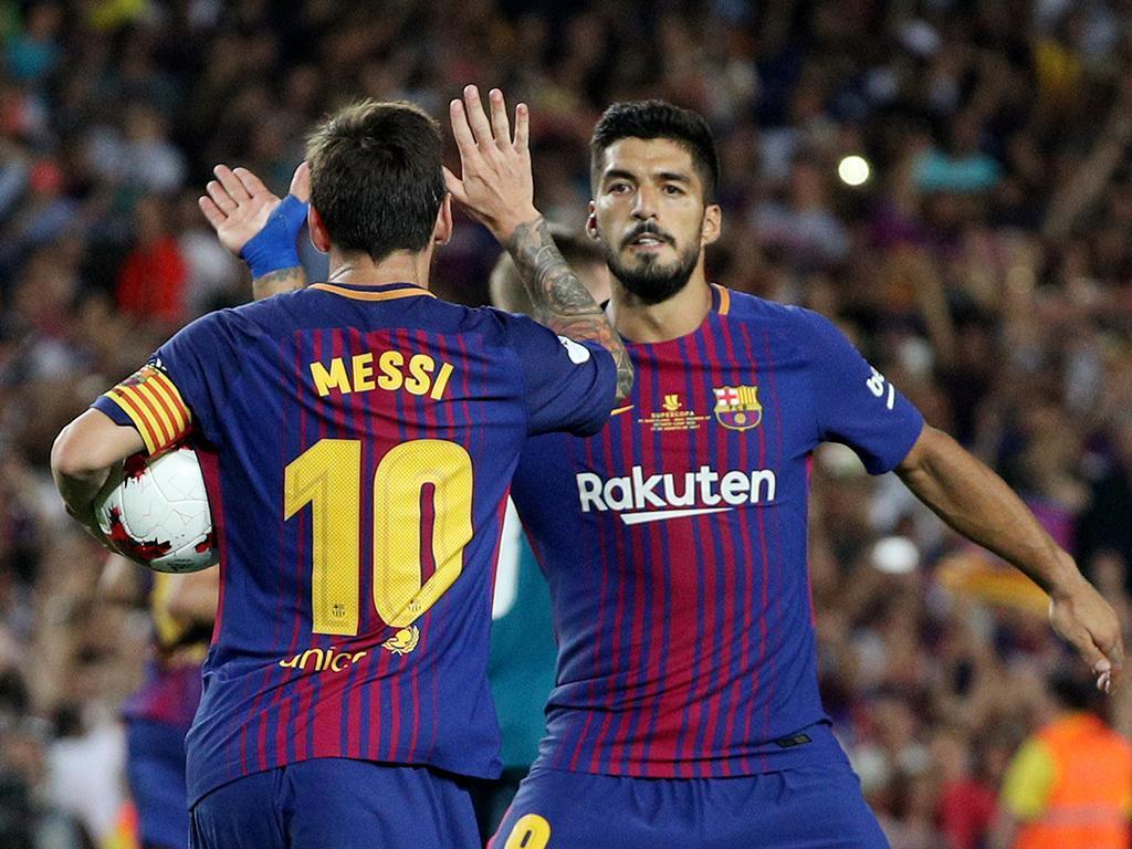 Lesão obriga Suárez a parar quatro a cinco semanas