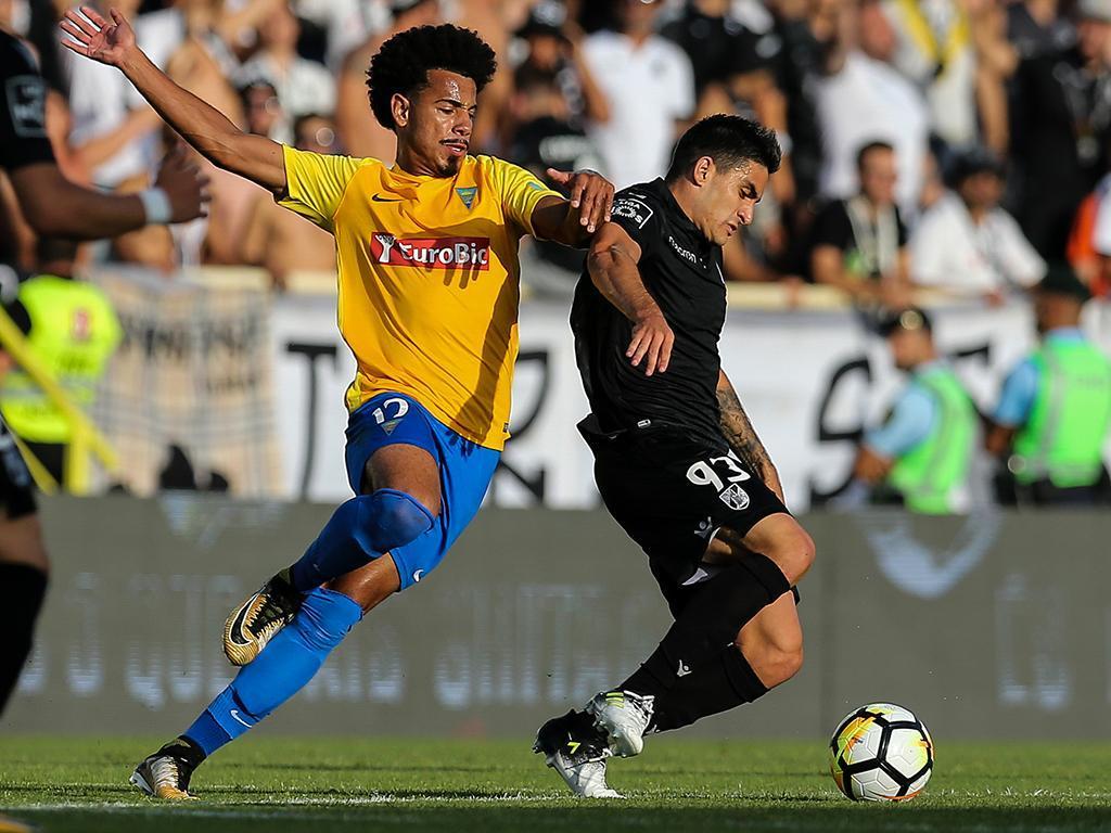 Estoril-Praia 3, Vitória de Guimarães 0 — Resultado final