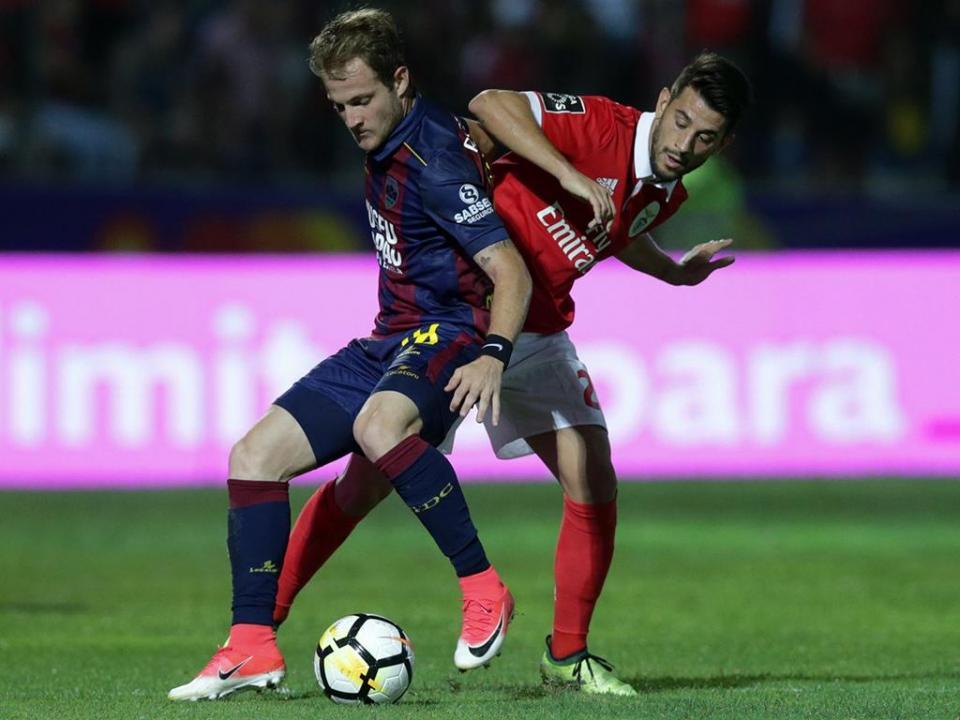 Desp. Chaves-Benfica: antevisão e onzes prováveis