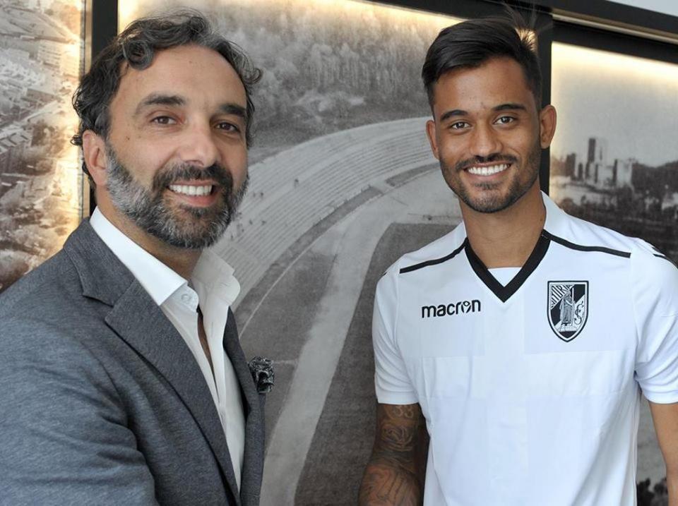 VÍDEO: Jubal fez o 2-0 no V. Guimarães-Rio Ave