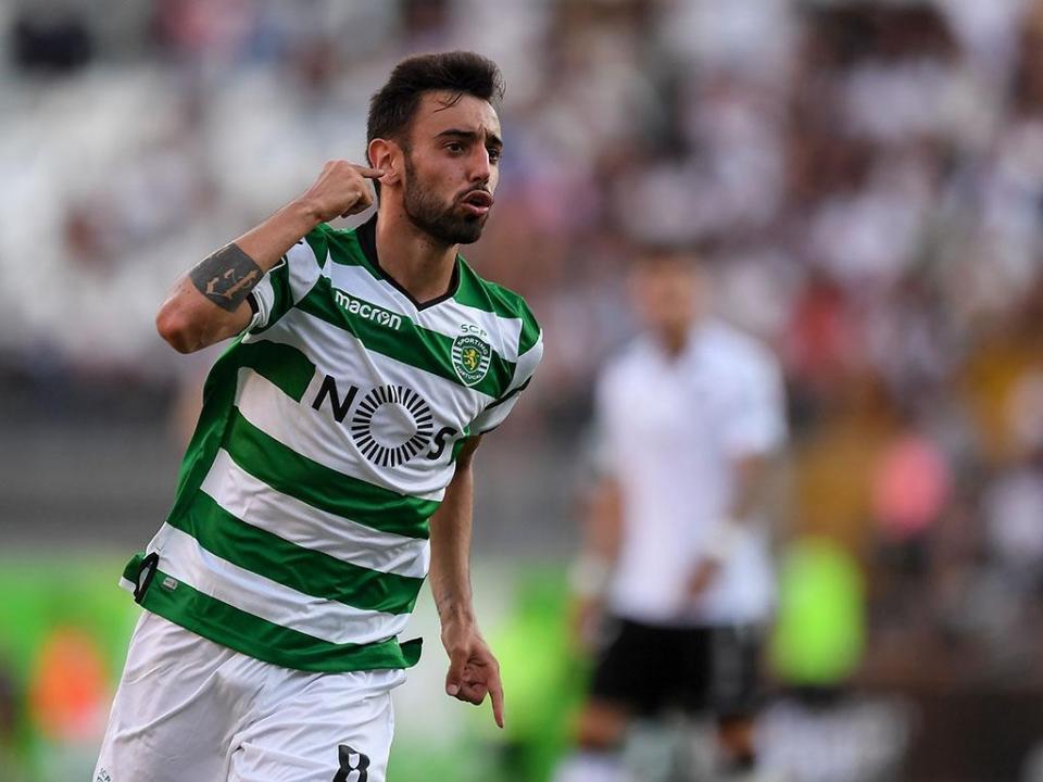 Bruno Fernandes regressa ao Sporting