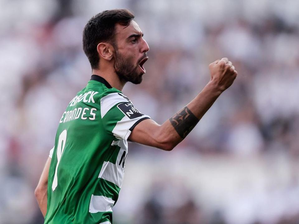Sporting-Marselha: Bruno Fernandes de início, Nani também e é capitão