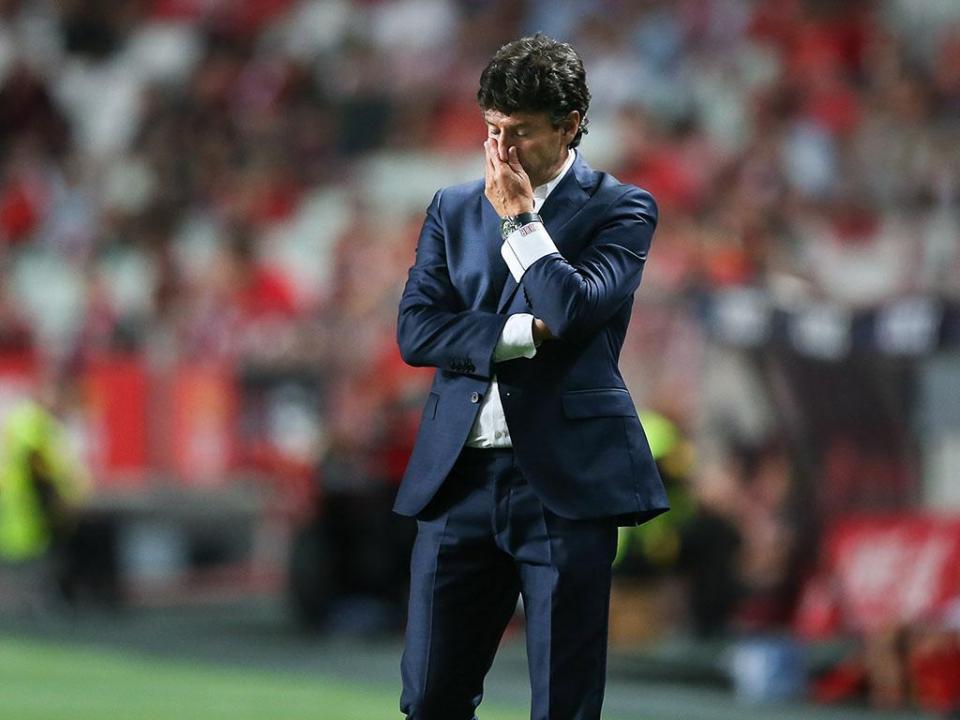 Domingos: «O golo cedo desmoronou a equipa por completo»