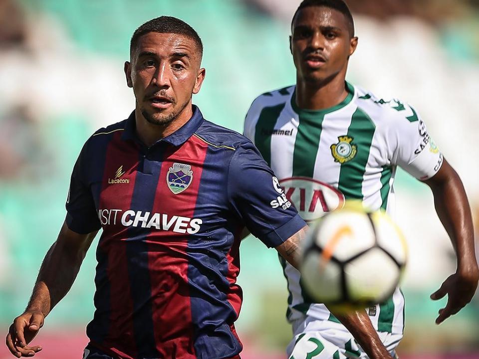 Oficial: Davidson muda-se de Chaves para o V. Guimarães