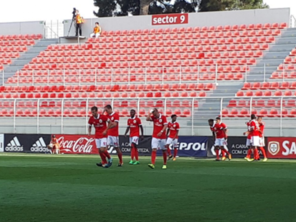 Benfica B empata com o Real Massamá no Seixal