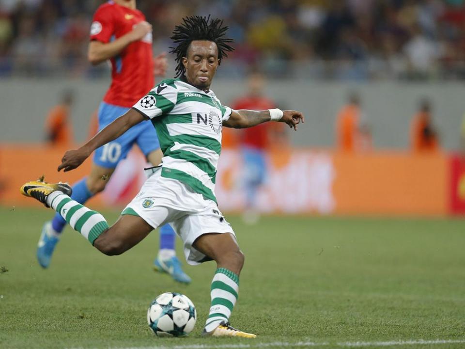 Sporting: Gelson já treinou e está convocado para o Restelo