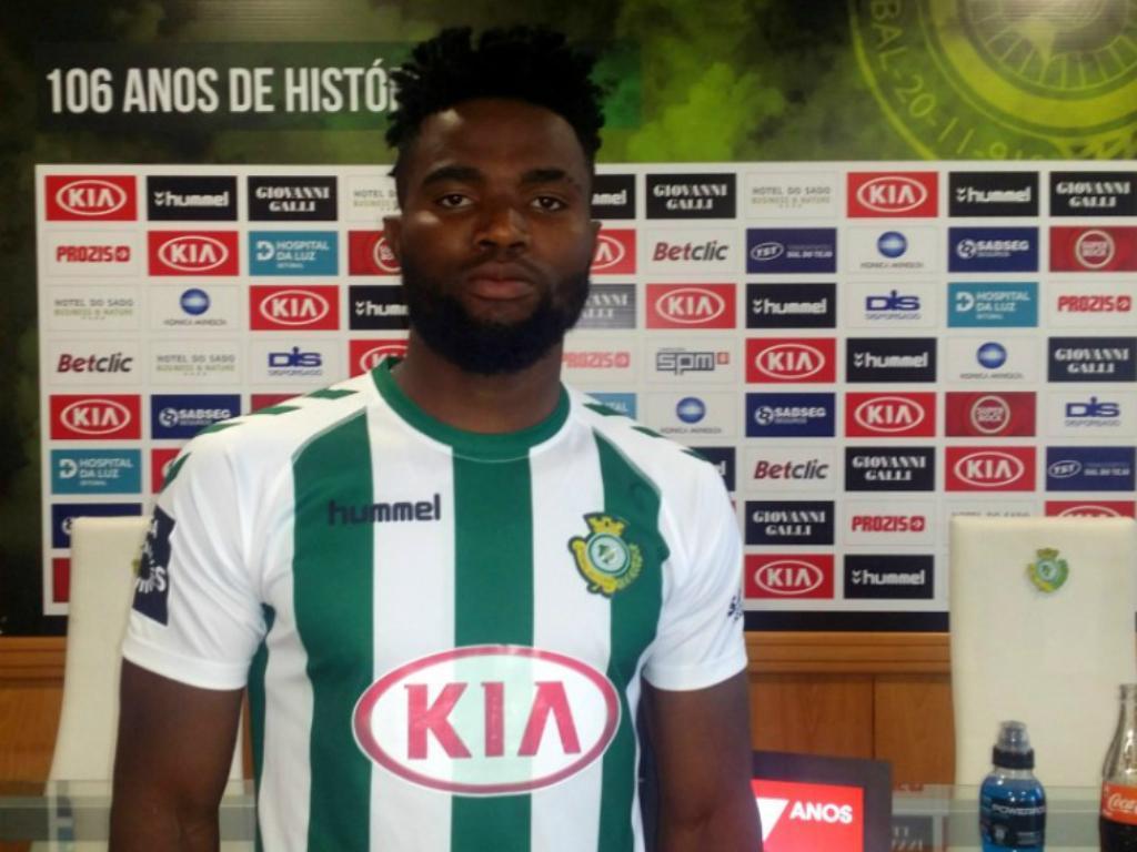 Vitória de Setúbal contrata médio nigeriano Jacob Adebanjo