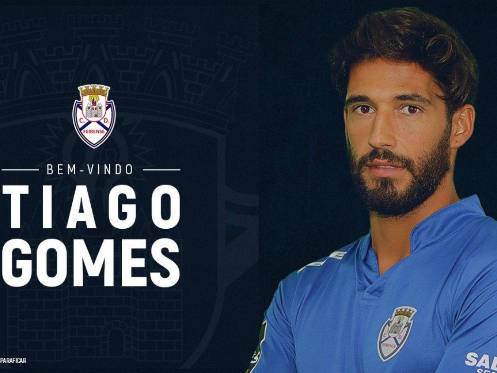 Tiago Gomes reforça Feirense