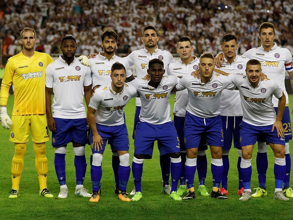 Adeptos do Hajduk Split, de Hugo Almeida, agridem jogadores
