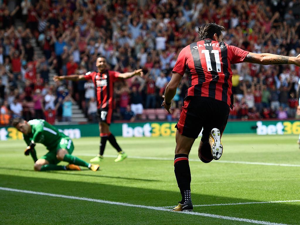 Inglaterra: reviravolta dá primeiros pontos ao Bournemouth