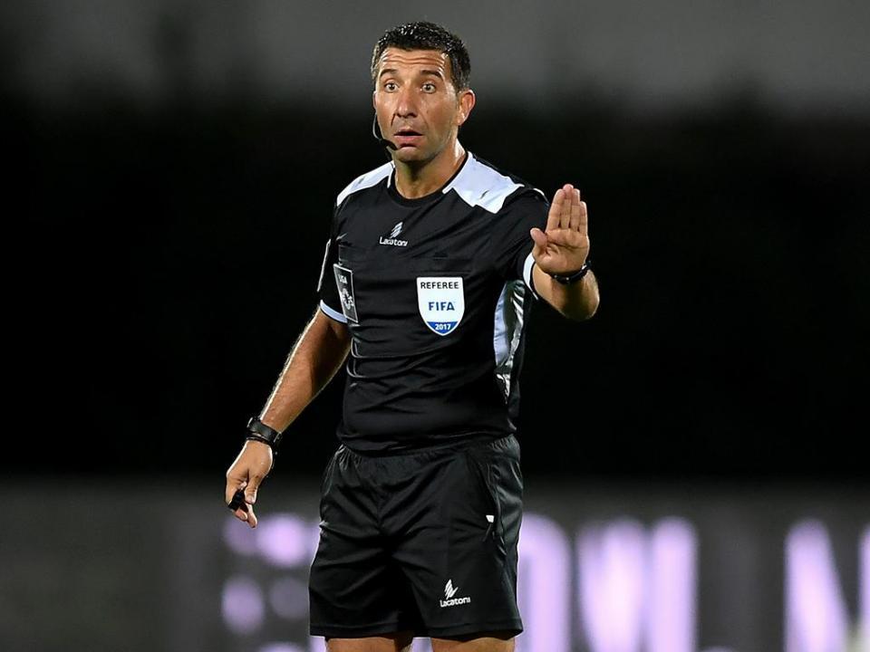 Hugo Miguel arbitra Desp. Chaves-Sporting
