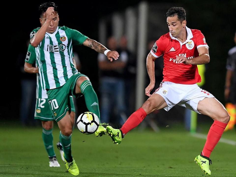 Rio Ave-Benfica (onzes): Vitória não mexe, Cardoso muda dois