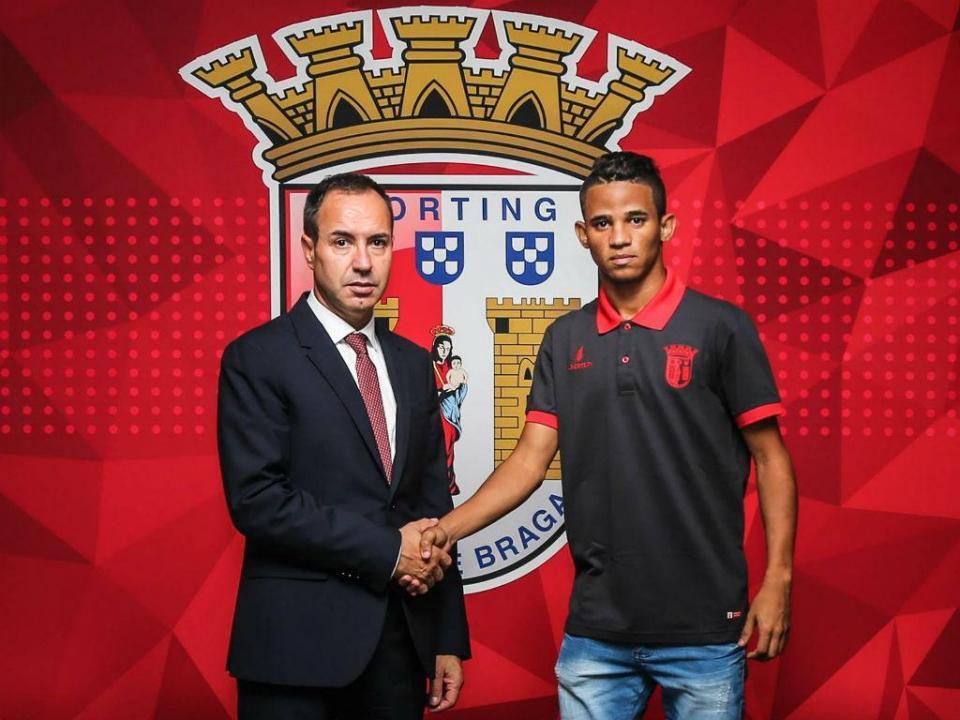 Sp. Braga: Rodrigo Borges chega para a equipa B e Erick foi cedido