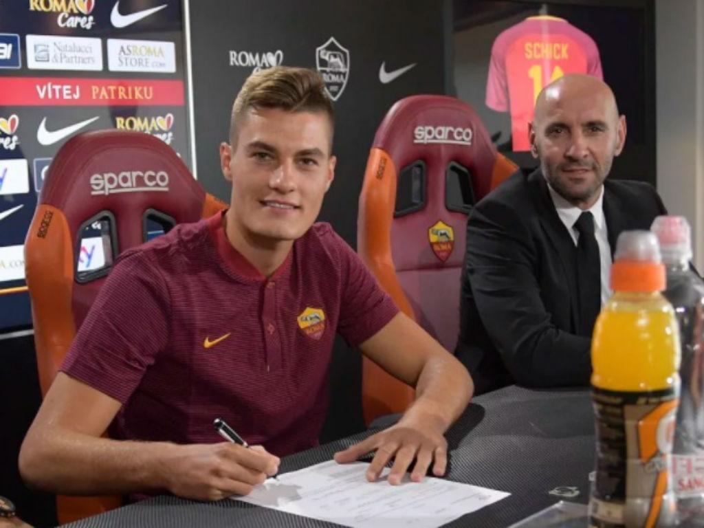 Presidente da Sampdoria confirma saída de Schick para a AS Roma