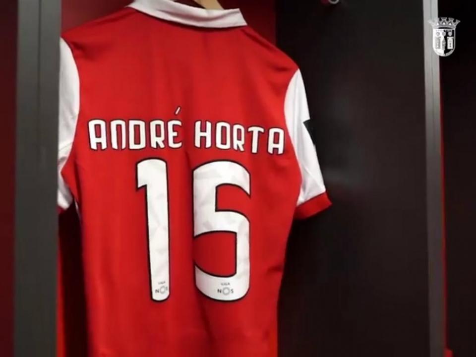 André Horta na despedida: «Voltei a jogar com o meu ídolo»