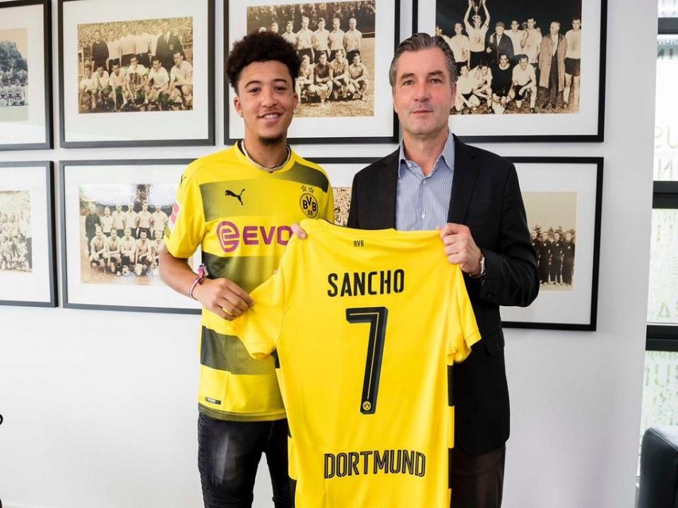 Dortmund renova com Jadon Sancho até 2022