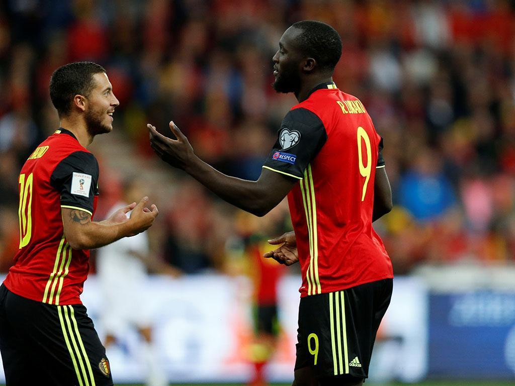 Lukaku bisa na goleada da Bélgica sobre a Arábia Saudita