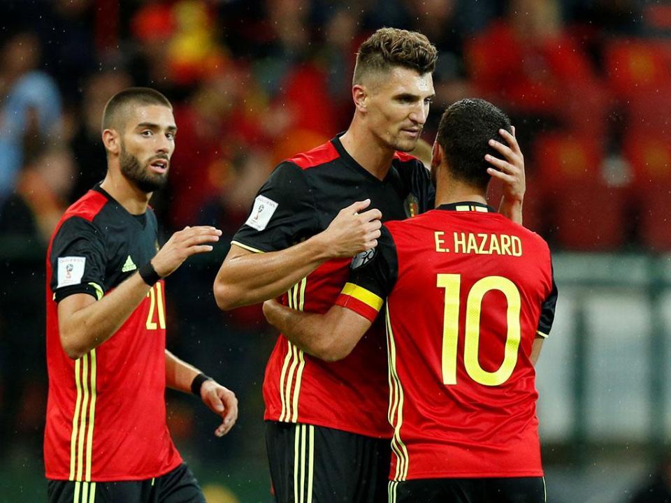 Mundial 2018: Witsel nos pré-convocados da Bélgica