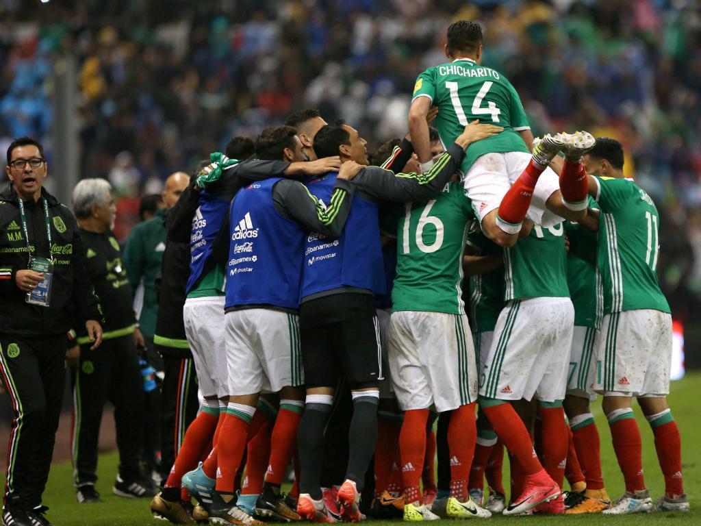 México quinta seleção apurada para o Mundial2018
