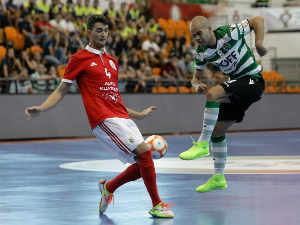 Futsal: Sporting e Benfica medem forças na final da Taça da Liga