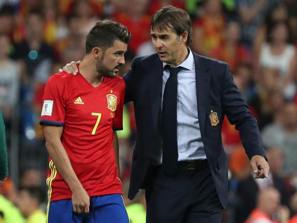 Villa: no regresso à seleção jogou, lesionou-se e agora é baixa