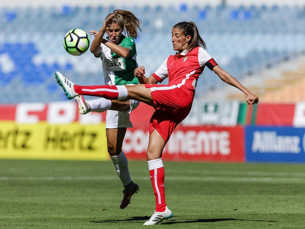 Futebol feminino: Sporting vence e mantém distâncias