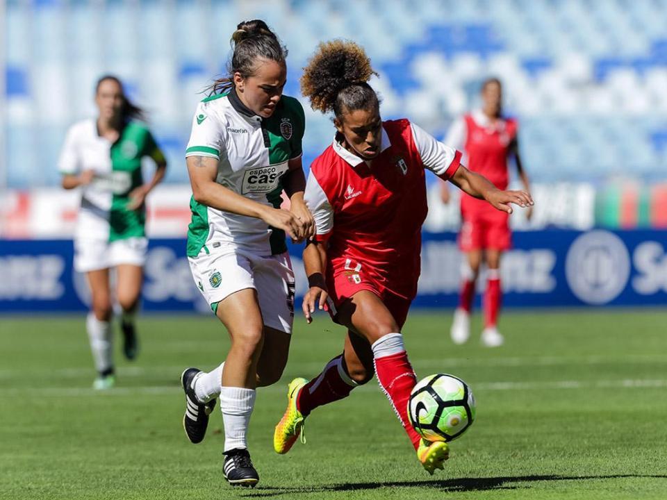 Futebol feminino: Sporting recebe Fut. Benfica nos «quartos» da Taça