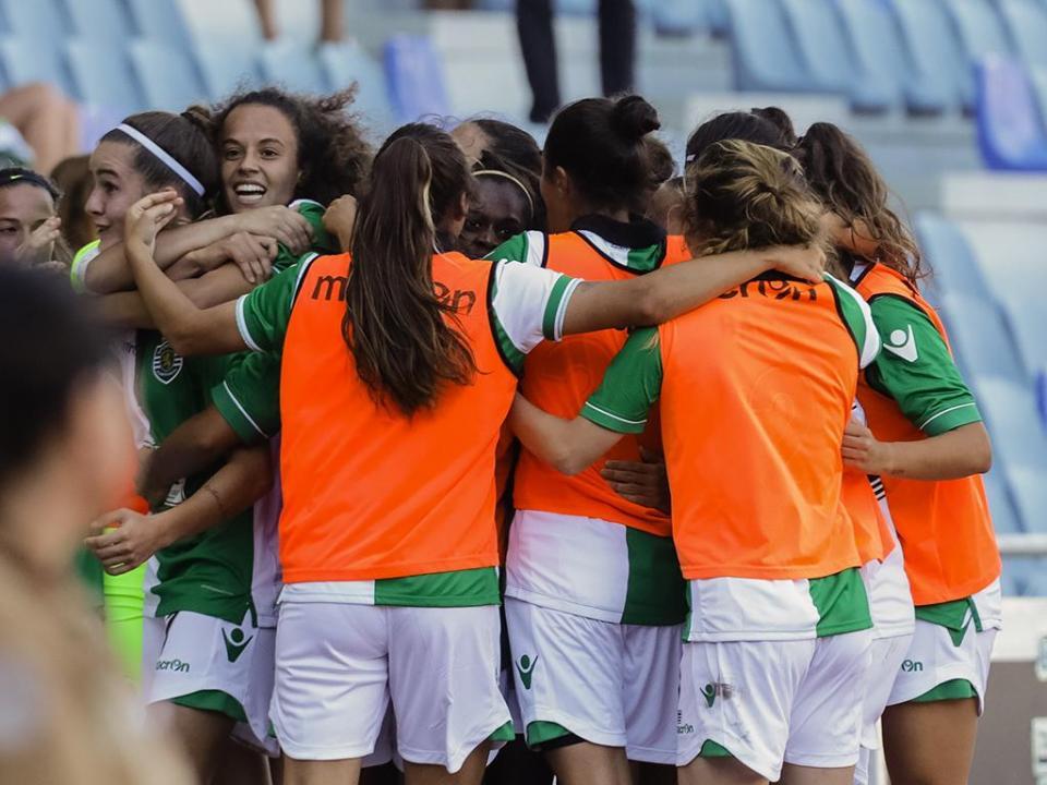 Futebol feminino: Sporting e Sp. Braga, goleadas ao desafio