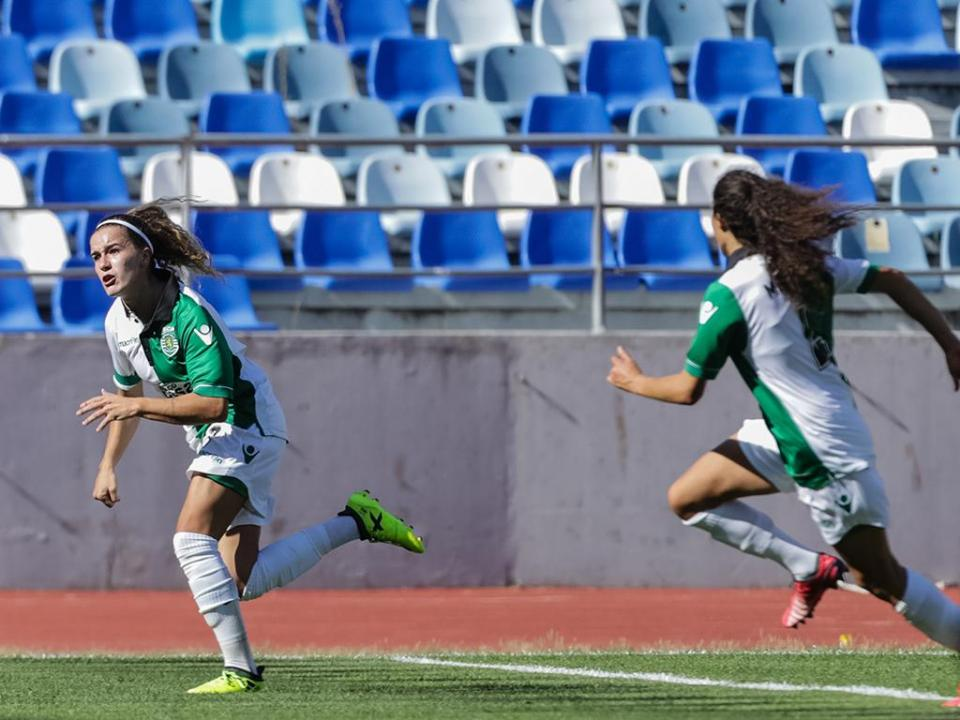 Futebol feminino: Sporting vence e mantém liderança isolada