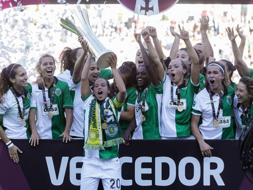 Futebol feminino: Sporting é a equipa do ano
