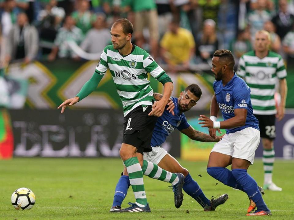 Sporting-Feirense: antevisão e onzes prováveis