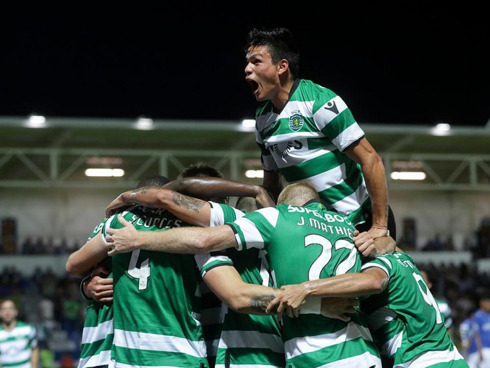 Feirense Sporting: Feirense-Sporting, 2-3 (destaques)