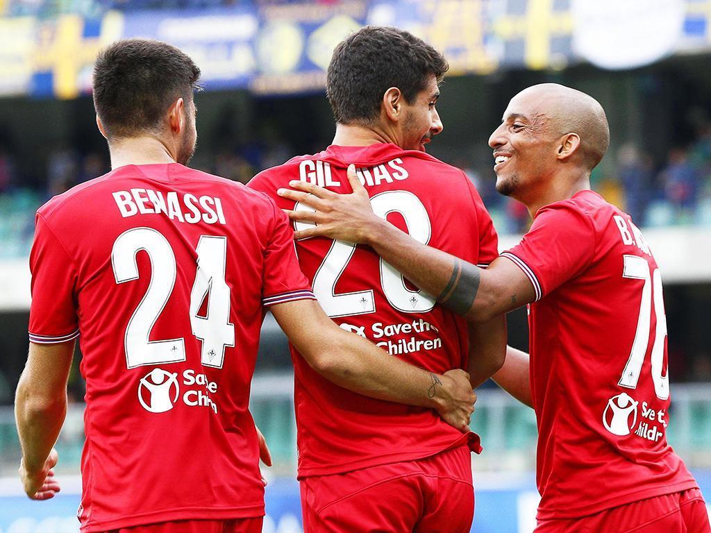 Gil Dias marca e fecha goleada da Fiorentina — Itália