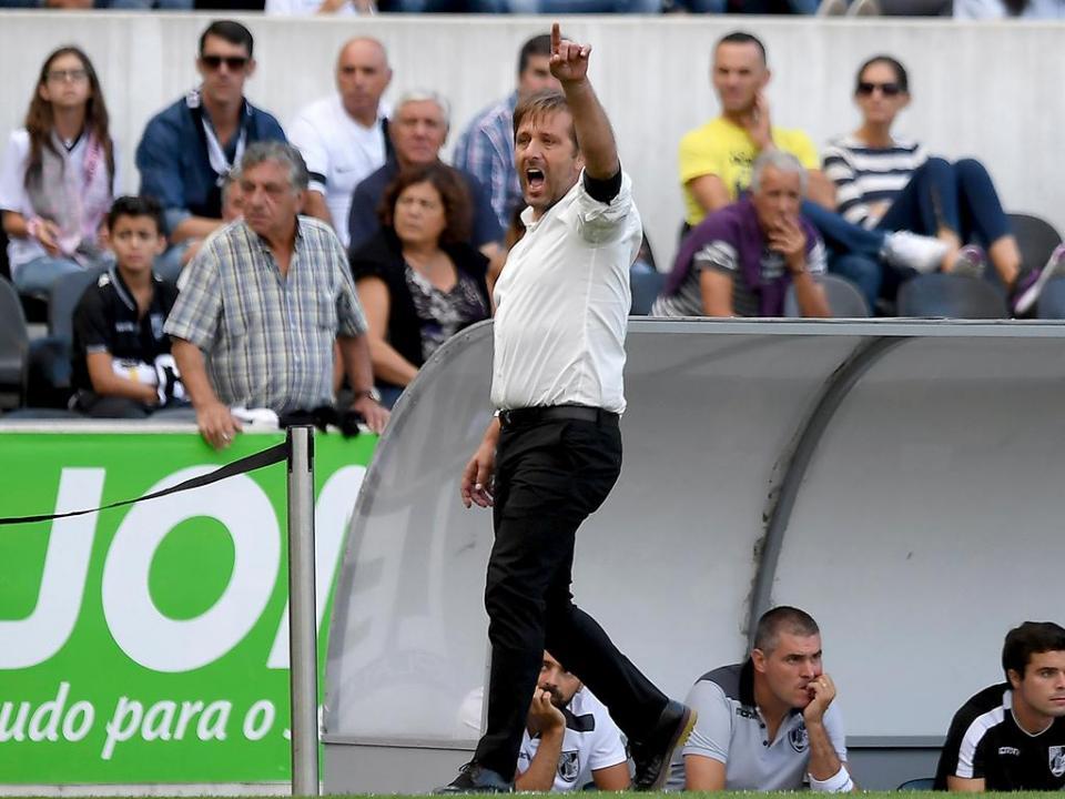 V. Guimarães: Francisco Ramos em estreia para Braga