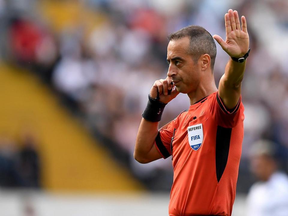 Árbitros portugueses não vão pisar os palcos do Mundial