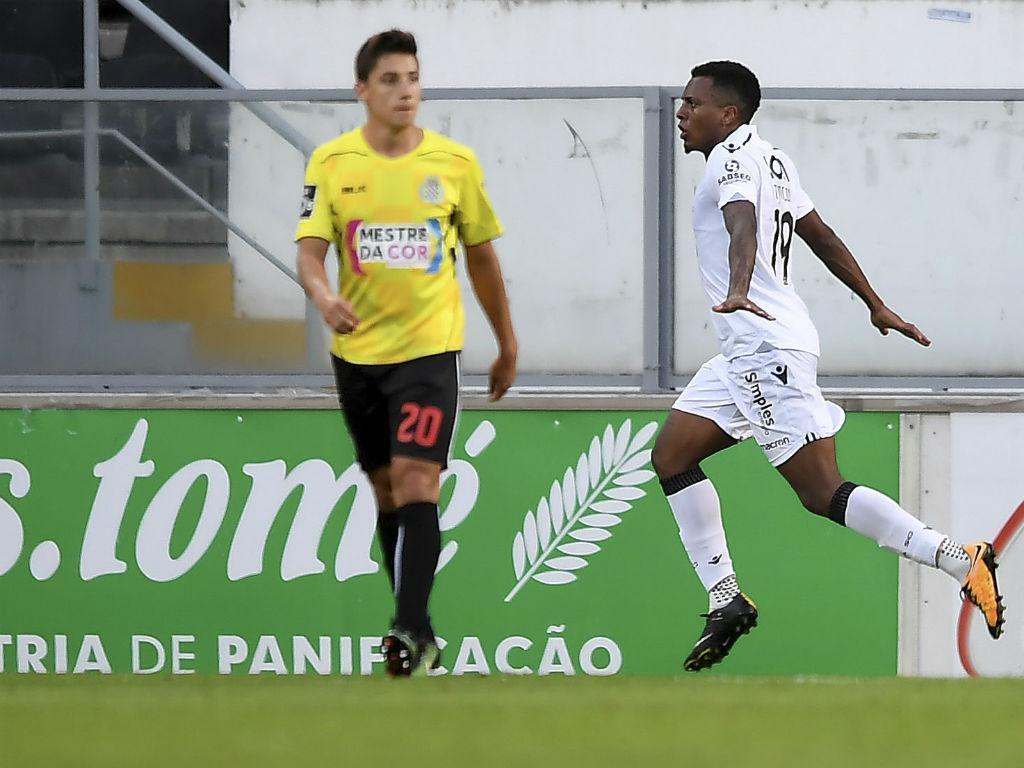 Vitória de Guimarães bate Boavista com golo solitário de Rincón