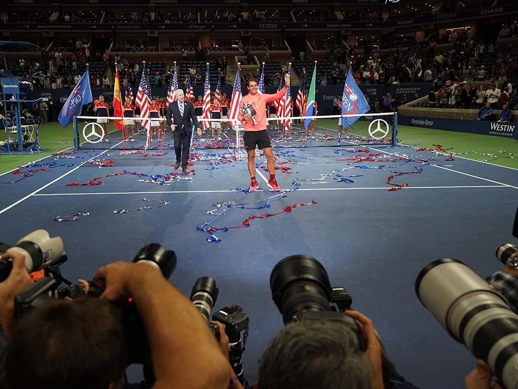 Nadal e Muguruza eleitos campeões mundiais pela ITF