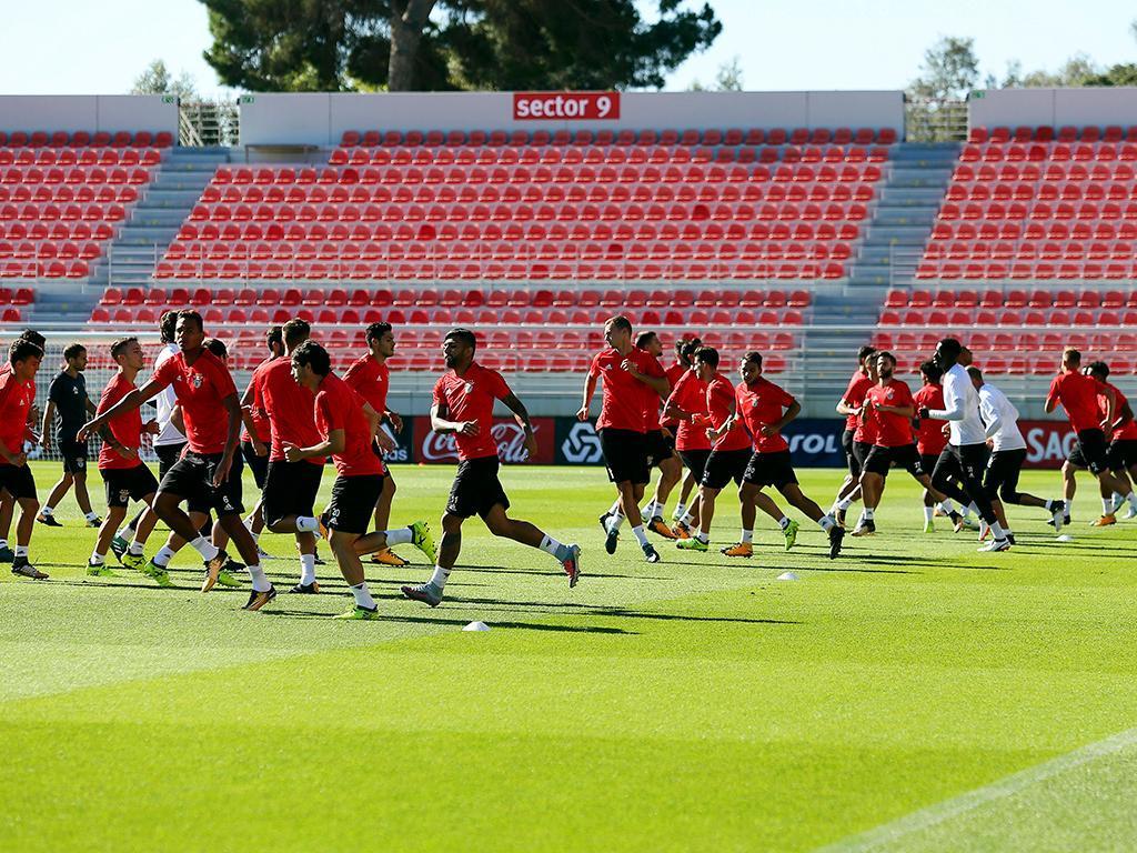 Benfica: internacionais já chegaram, Rui Vitória tem todos às ordens