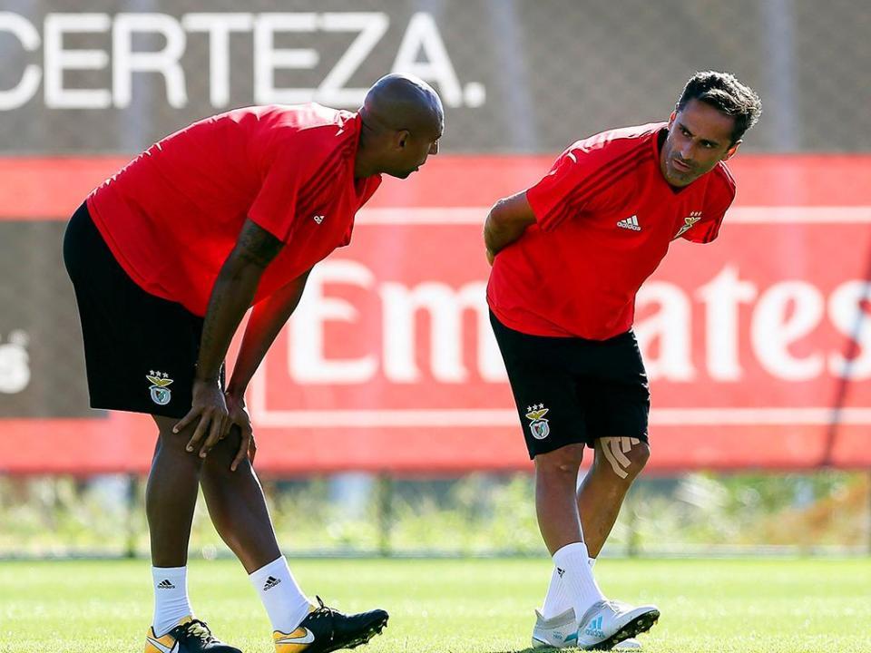 Benfica: Jonas às ordens de Rui Vitória no treino desta quarta-feira