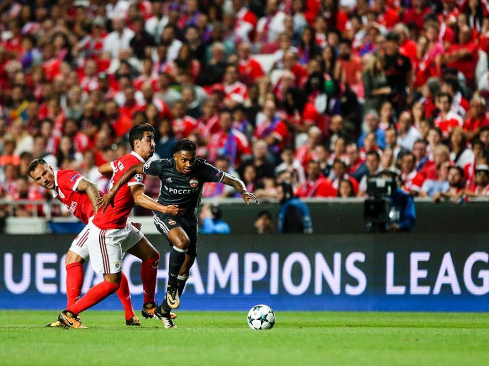 Benfica-CSKA registou pior casa da época