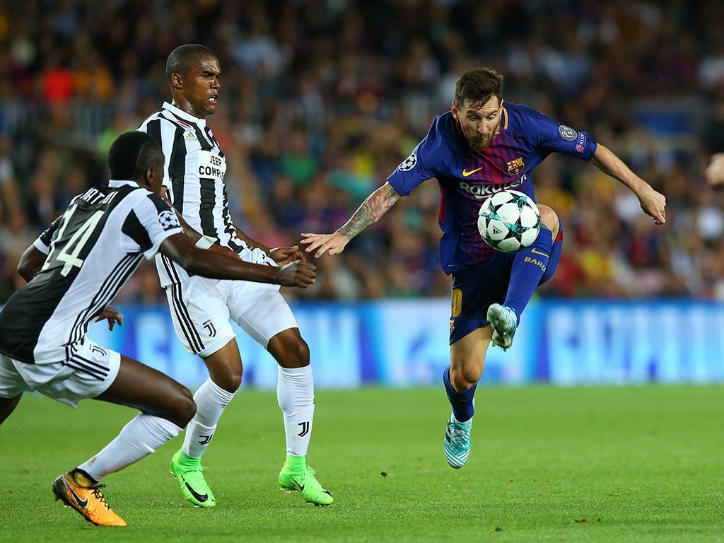 Atenção Sporting: Messi decide e Barcelona destroça Juventus