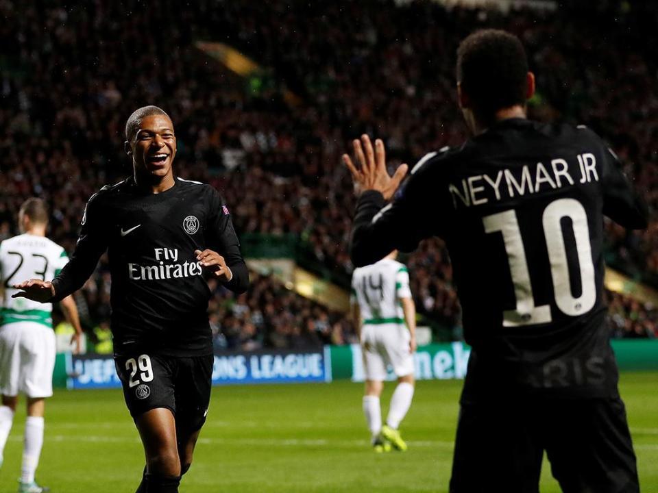 LC, grupo B: Neymar, Mbappé e Cavani já fazem estragos