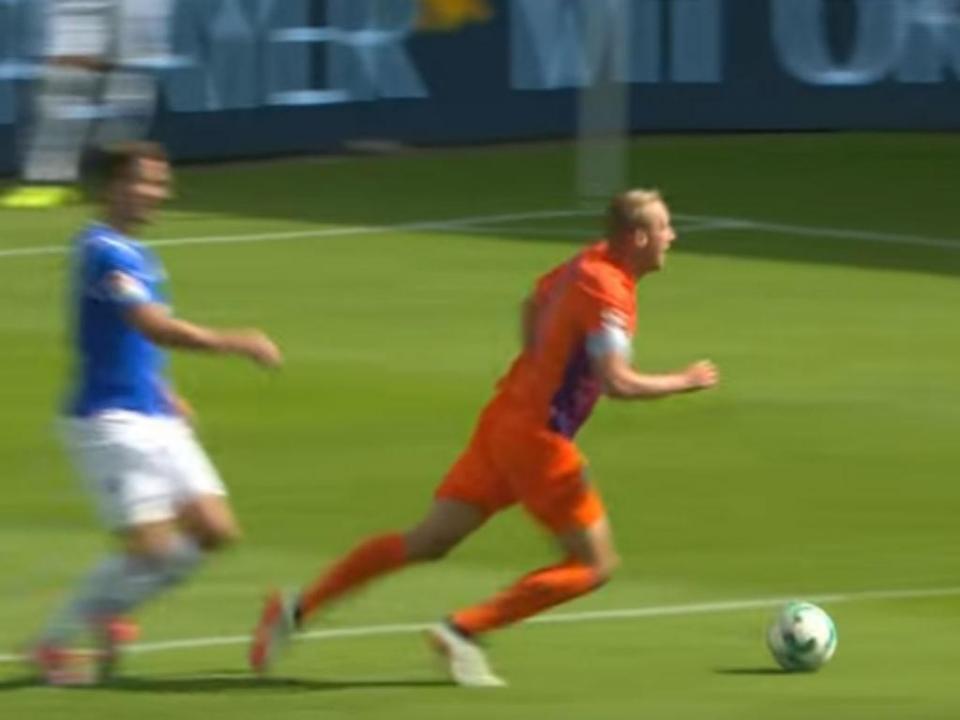 Fair-play na Alemanha: Felix Bastians assume que «mergulhou»