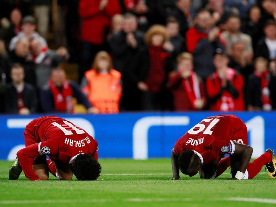 LC: Salah eleito melhor jogador da jornada