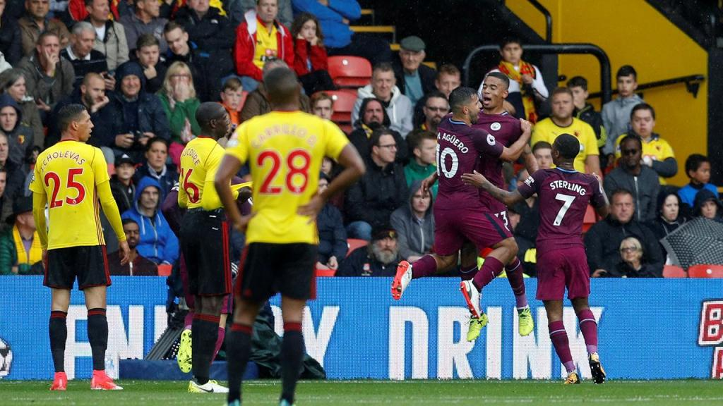 Inglaterra Manchester City arrasa Watford de Marco Silva