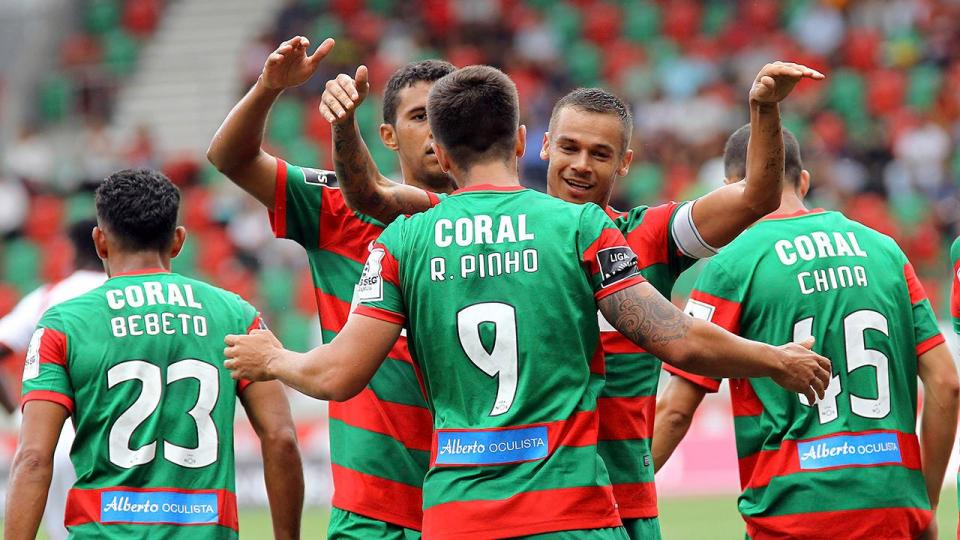 Quatro novidades no Marítimo para o jogo com o Torcatense