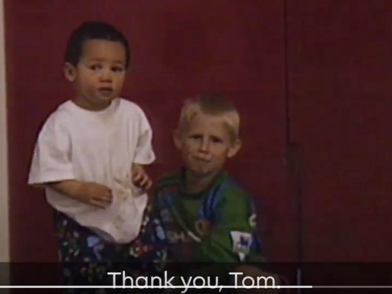VÍDEO: Kasper Schmeichel e Tom Ince já se defrontavam em bebés